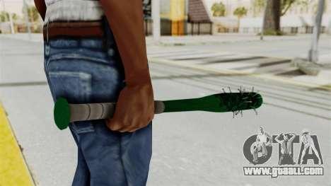 Nail Baseball Bat v1 for GTA San Andreas third screenshot