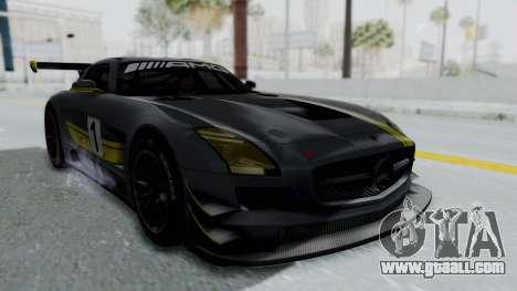Mercedes-Benz SLS AMG GT3 PJ5 for GTA San Andreas engine