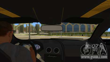 Lamborghini Reventon Monster Truck for GTA San Andreas inner view