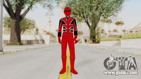 Power Rangers Jungle Fury - Red for GTA San Andreas second screenshot