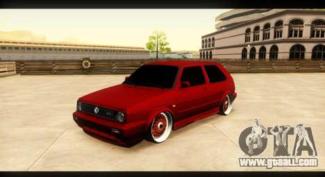 Volkswagen Golf GTI Mk2 for GTA San Andreas