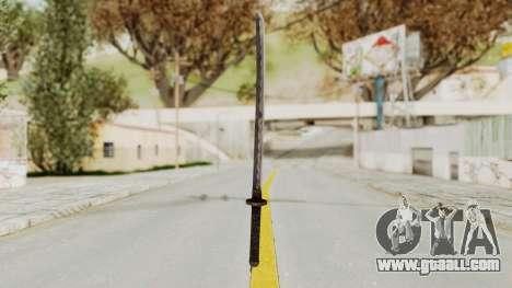 Skyrim Iron Wakizashi for GTA San Andreas