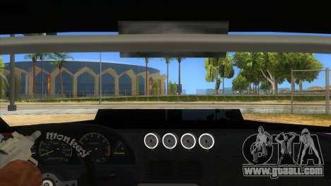 Elegy Tio Sam Style for GTA San Andreas inner view