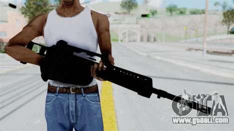 MG36 for GTA San Andreas