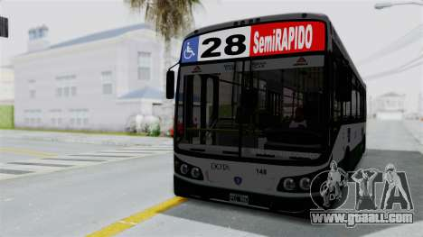 TodoBus Pompeya II Scania K310 Linea 28 for GTA San Andreas