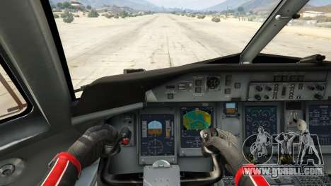 GTA 5 Bombardier Dash 8Q-400 fourth screenshot