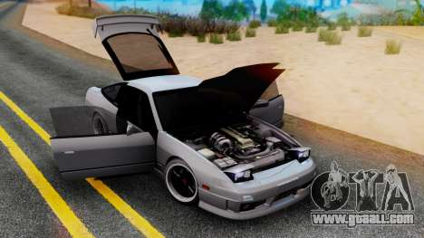 Nissan 180SX Type X for GTA San Andreas left view