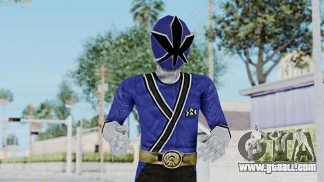 Power Rangers Samurai - Blue for GTA San Andreas