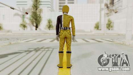 Power Rangers S.P.D - Yellow for GTA San Andreas third screenshot