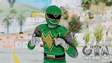Power Rangers Ninja Storm - Green for GTA San Andreas