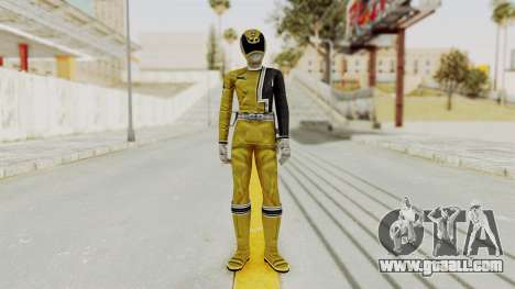 Power Rangers S.P.D - Yellow for GTA San Andreas second screenshot