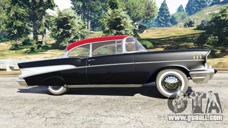GTA 5 Chevrolet Bel Air Sport Coupe 1957 v1.5 left side view