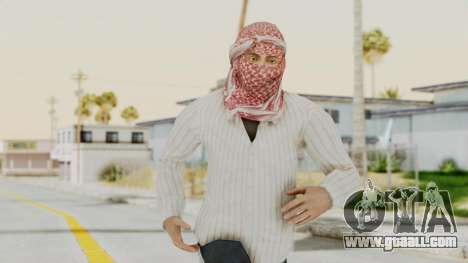 Middle East Insurgent v1 for GTA San Andreas