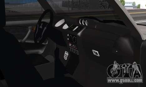 Mitsubishi Pajero 2 for GTA San Andreas inner view