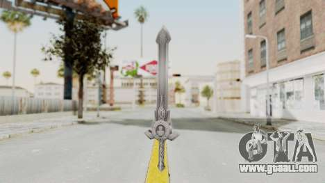 Horse Orphnoch Sword for GTA San Andreas second screenshot
