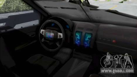 Advanced Warfare Tactical Pickup for GTA San Andreas right view