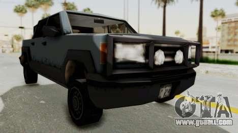 GTA 3 Cartel Cruiser for GTA San Andreas right view