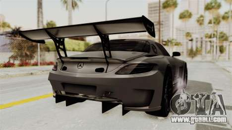 Mercedes-Benz SLS AMG GT3 PJ1 for GTA San Andreas back left view