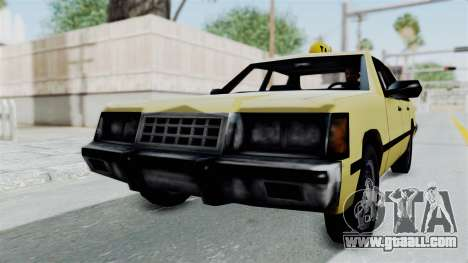 GTA Vice City - Taxi for GTA San Andreas