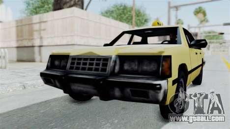 GTA Vice City - Taxi for GTA San Andreas