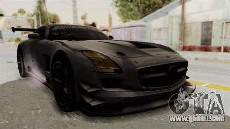 Mercedes-Benz SLS AMG GT3 PJ1 for GTA San Andreas right view