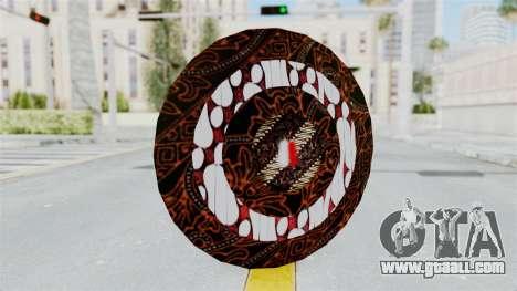 SpiderMan Indonesia Version Shield for GTA San Andreas