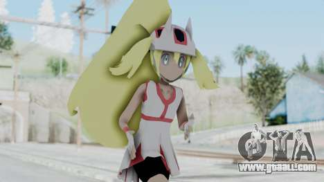 Pokémon XY Series - Korrina v1 for GTA San Andreas