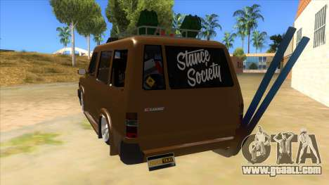 Toyota Kijang Grand Extra Full for GTA San Andreas back left view
