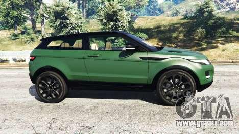 GTA 5 Range Rover Evoque v2.0 left side view