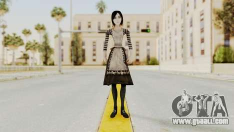 Alice London Madness Returns for GTA San Andreas second screenshot