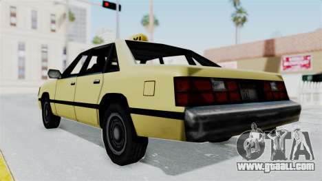 GTA Vice City - Taxi for GTA San Andreas right view