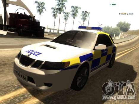 SAAB 9-2 Aero Turbo Generic UK Police for GTA San Andreas