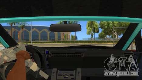 Lexus LFA 2010 Yamai Sister Itasha for GTA San Andreas inner view