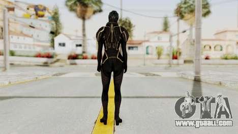 Mass Effect 2 Samara Black for GTA San Andreas third screenshot