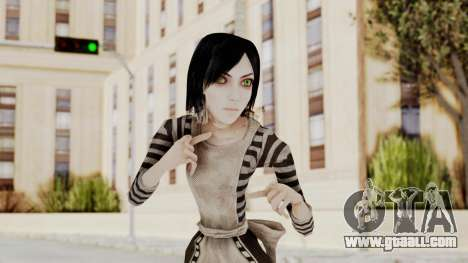 Alice London Madness Returns for GTA San Andreas