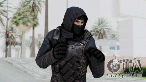SAS No Gas Mask from CSO2 for GTA San Andreas