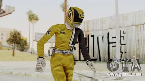 Power Rangers S.P.D - Yellow for GTA San Andreas
