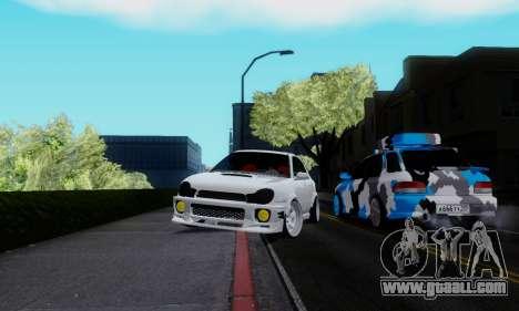Subaru Impreza WRX STi Wagon Stens for GTA San Andreas right view