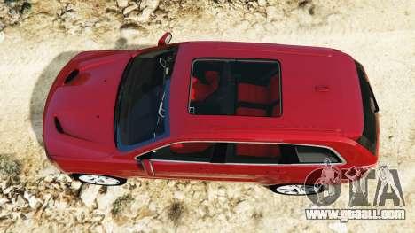 Jeep Grand Cherokee SRT-8 2015 v1.1 for GTA 5