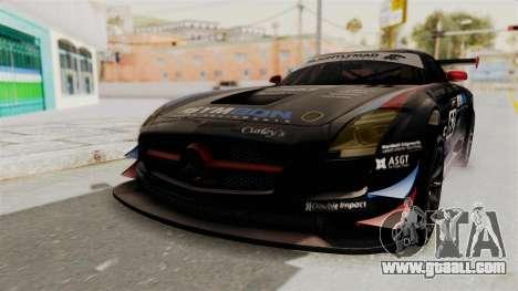 Mercedes-Benz SLS AMG GT3 PJ1 for GTA San Andreas back view