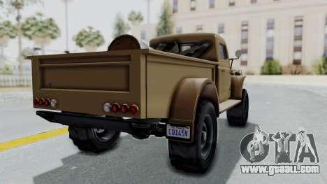 GTA 5 Bravado Duneloader Cleaner for GTA San Andreas
