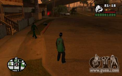 CJ Animation ped for GTA San Andreas seventh screenshot