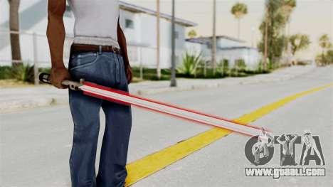 Star Wars LightSaber Red for GTA San Andreas
