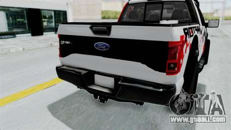 Ford F-150 Raptor 2015 for GTA San Andreas side view