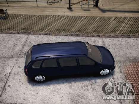 VAZ Kalina 1117 7-door for GTA 4 side view