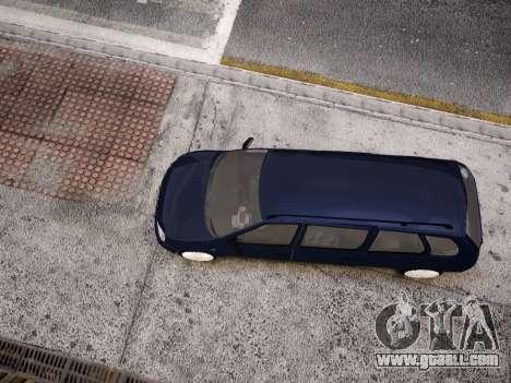 VAZ Kalina 1117 7-door for GTA 4 upper view