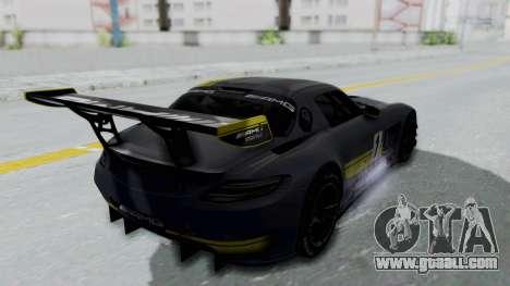 Mercedes-Benz SLS AMG GT3 PJ5 for GTA San Andreas wheels