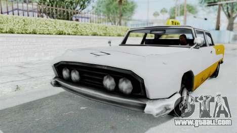 GTA VC Oceanic Taxi for GTA San Andreas