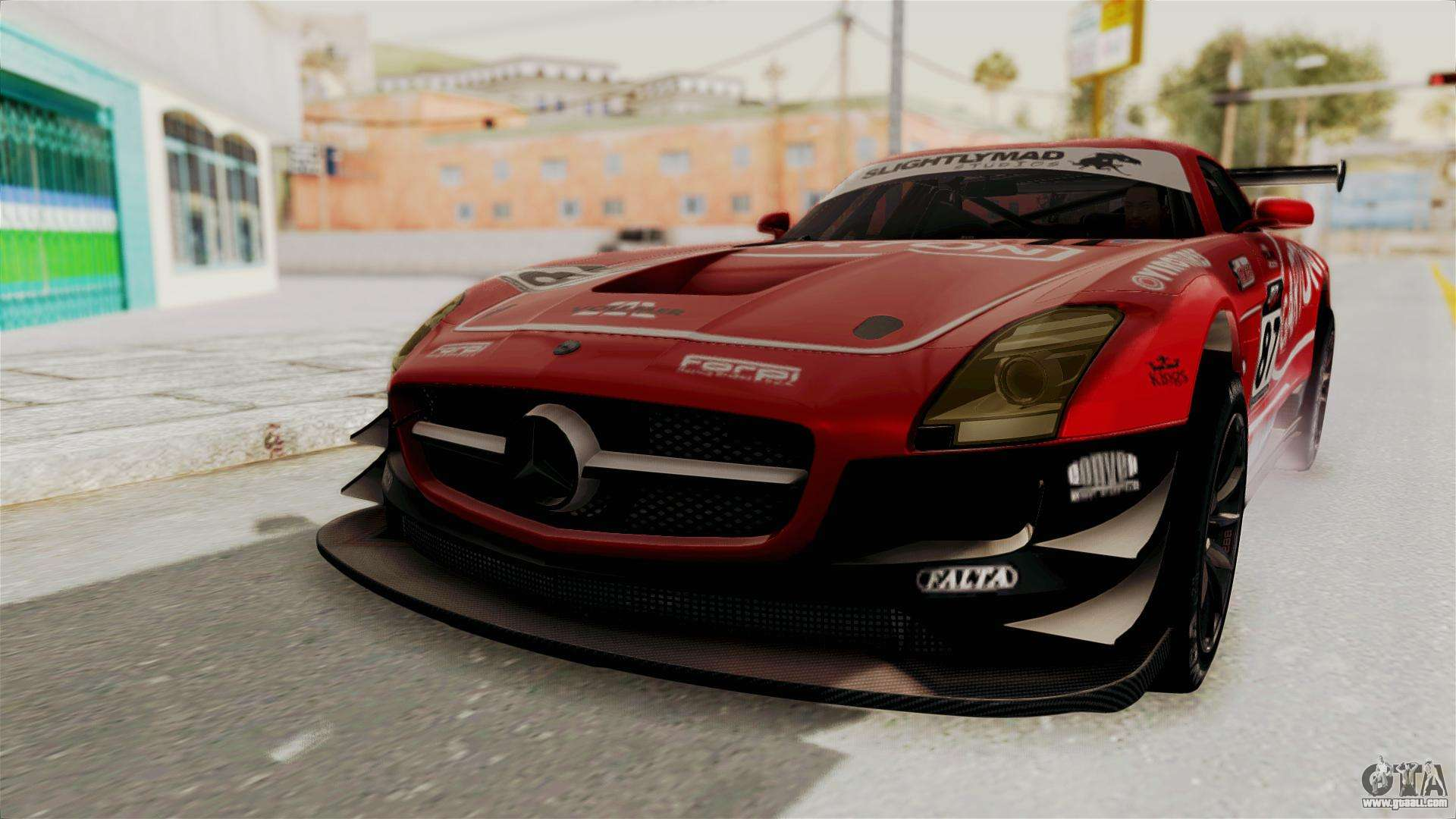 Mercedes benz sls amg gt3 pj1 for gta san andreas for Mercedes benz gt3