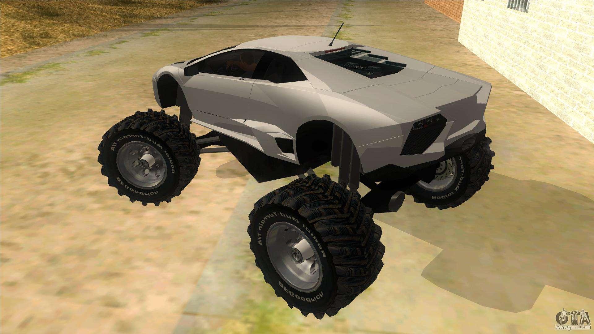 Lamborghini Reventon Monster Truck For Gta San Andreas